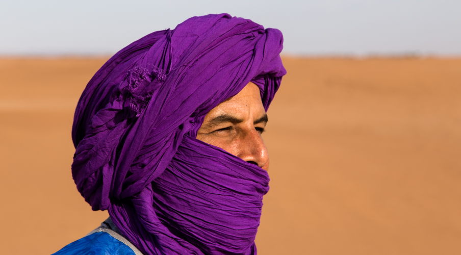 Our guide for the desert